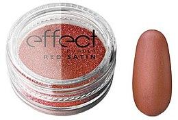 Voňavky, Parfémy, kozmetika Prášok na nechty - Silcare Red Satine Effect Powder