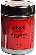 """Voňavky, Parfémy, kozmetika Organická bylinná farba na vlasy """"Henna a Amla"""" - Khadi Herbal Hair Colour Henna & Amla"""