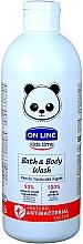 Voňavky, Parfémy, kozmetika Antibakteriálna pena do kúpeľa a sprchový gél - On Line Kids Time Bath & Body Wash Antibacterial