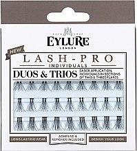 Voňavky, Parfémy, kozmetika Falošné riasy - Eylure Lash Pro Semi Permanent Eyelash Individual Duos And Trios