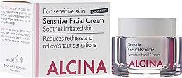 Voňavky, Parfémy, kozmetika Krém pre citlivú pleť tváre - Alcina S Sensitive Facial Cream