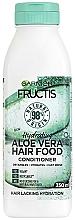 """Voňavky, Parfémy, kozmetika Hydratačný kondicionér na vlasy """"Aloe Vera"""" - Garnier Fructis Aloe Vera Hair Food Conditioner"""