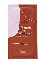 Voňavky, Parfémy, kozmetika Roztápajúca sa maska na krk  - Lovbod Melting Mask for Neck