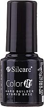 Voňavky, Parfémy, kozmetika Maskovacia báza pre gélové laky - Silcare Color It Premium Hardi Builder Hybrid Base