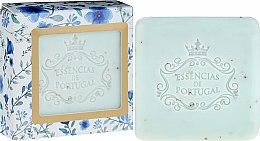 Voňavky, Parfémy, kozmetika Mydlo-peeling - Essencias De Portugal Violet And Apricot Kernel Scrub Aromatic Soap