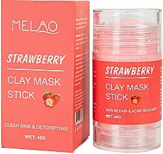 Voňavky, Parfémy, kozmetika Maska na tvár v tyčinke s jahodou - Melao Strawberry Clay Mask Stick