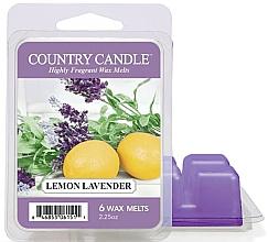 Voňavky, Parfémy, kozmetika Vosk pre aromatickú lampu - Country Candle Lemon Lavender Wax Melts