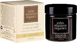 Voňavky, Parfémy, kozmetika Čistiaca maska na tvár - John Masters Organics Moroccan Clay Purifying Mask