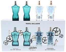 Voňavky, Parfémy, kozmetika Jean Paul Gaultier Le Male - Sada (edt/7ml + edt/7ml + edp/7ml + edp/7ml)