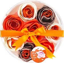 """Voňavky, Parfémy, kozmetika Konfety do kúpeľa """"Orange"""", 8 ks. - Spa Moments Bath Confetti Orange"""