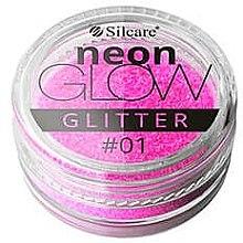 Voňavky, Parfémy, kozmetika Glitter na nechty - Silcare Brokat Neon Glow