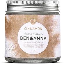 Voňavky, Parfémy, kozmetika Zubný prášok so škoricou - Ben & Anna Toothpowder Cinnamon