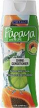Voňavky, Parfémy, kozmetika Kondicionér pre lesk vlasov - Freeman Papaya and Lime Shine Conditioner