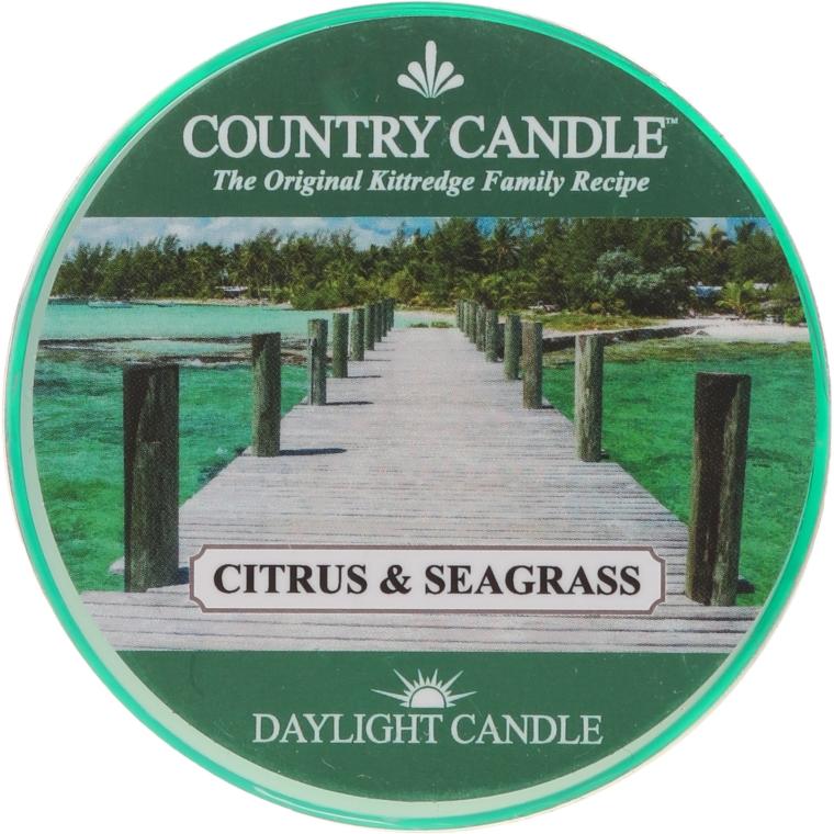 Čajová sviečka - Country Candle Citrus & Seagrass Daylight — Obrázky N1