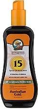 Voňavky, Parfémy, kozmetika Opaľovací sprej - Australian Gold Tea Tree&Carrot Oils Spray SPF15