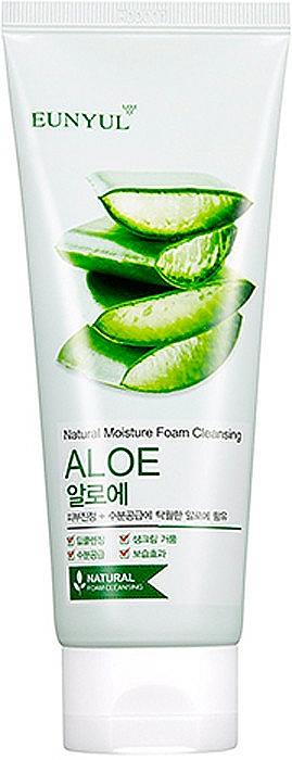 Pena na umývanie s aloe - Eunyul Aloe Foam Cleanser — Obrázky N1