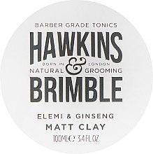 Voňavky, Parfémy, kozmetika Rúž na vlasy - Hawkins & Brimble Elemi & Ginseng Matt Clay