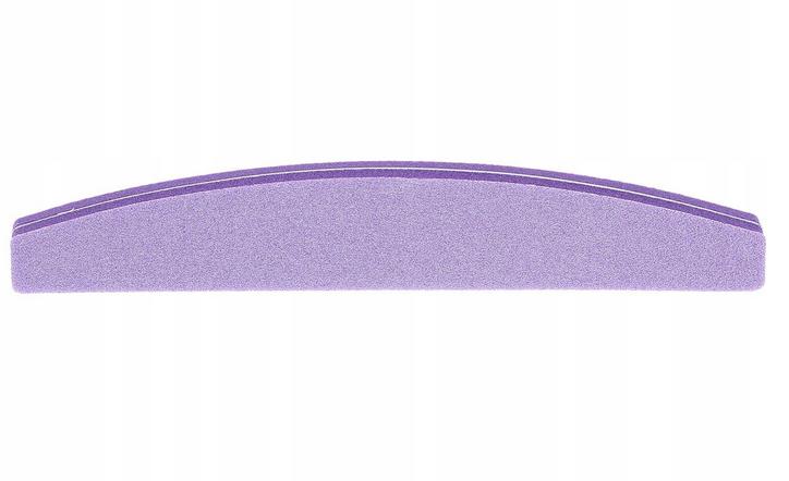 Pilník-buffer na nechty dvojitý, polkruh 100\180, fialový - Tools For Beauty
