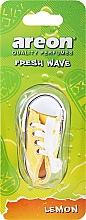 Voňavky, Parfémy, kozmetika Osviežovač vzduchu do auta - Areon Fresh Wave Lemon
