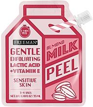 Voňavky, Parfémy, kozmetika Peeling na tvár s mandľovým mliekom - Freeman Almond Milk Peel