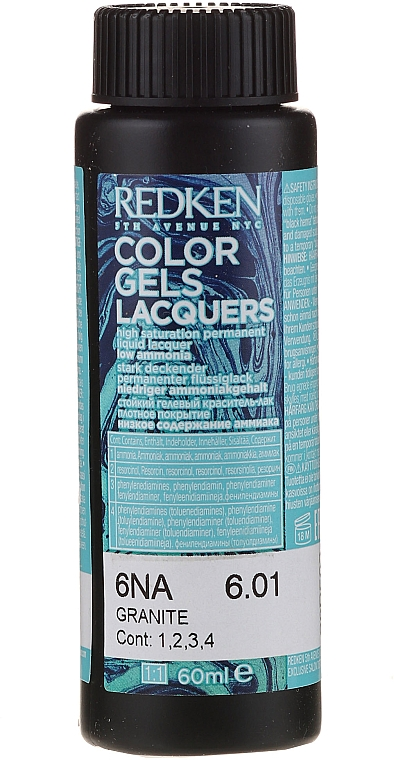 Permanentný farbiaci lak - Redken Color Gels Lacquers — Obrázky N1