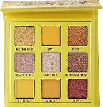 Voňavky, Parfémy, kozmetika Paleta očných tieňov, 9 farieb - Makeup Obsession Shadow Palette