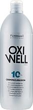Voňavky, Parfémy, kozmetika Oxidačná emulzia 3% - Kosswell Professional Oxidizing Emulsion Oxiwell 3% 10vol