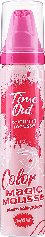 Farbiaci mušt na vlasy - Time Out Color Magic Mousse