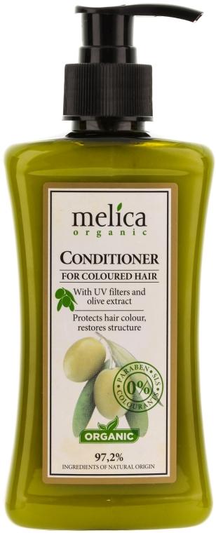 Balzam kondicionér pre farbené vlasy - Melica Organic for Coloured Hair Conditioner