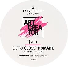 Voňavky, Parfémy, kozmetika Pomáda slabej fixácie pre ultra lesk - Brelil Art Creator Extra Glossy Pomade