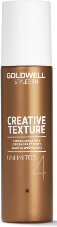 Sprej-vosk na vlasy - Goldwell Style Sign Creative Texture Unlimitor Strong Spray Wax