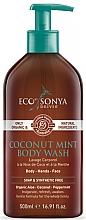 Voňavky, Parfémy, kozmetika Sprchový gél s kokosom a mätou - Eco by Sonya Coconut Mint Body Wash