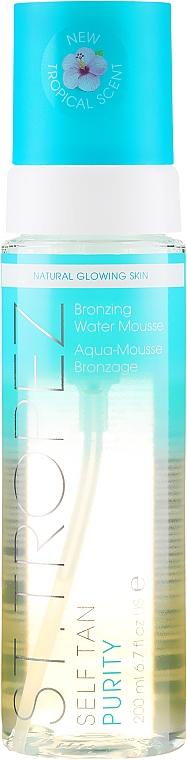 Pena-opaľovanie na báze bez oleja - St. Tropez Self Tan Purity Bronzing Water Mousse