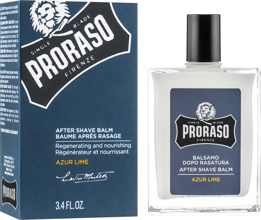 Balzam po holení - Proraso Azur Lime After Shave Balm — Obrázky N1