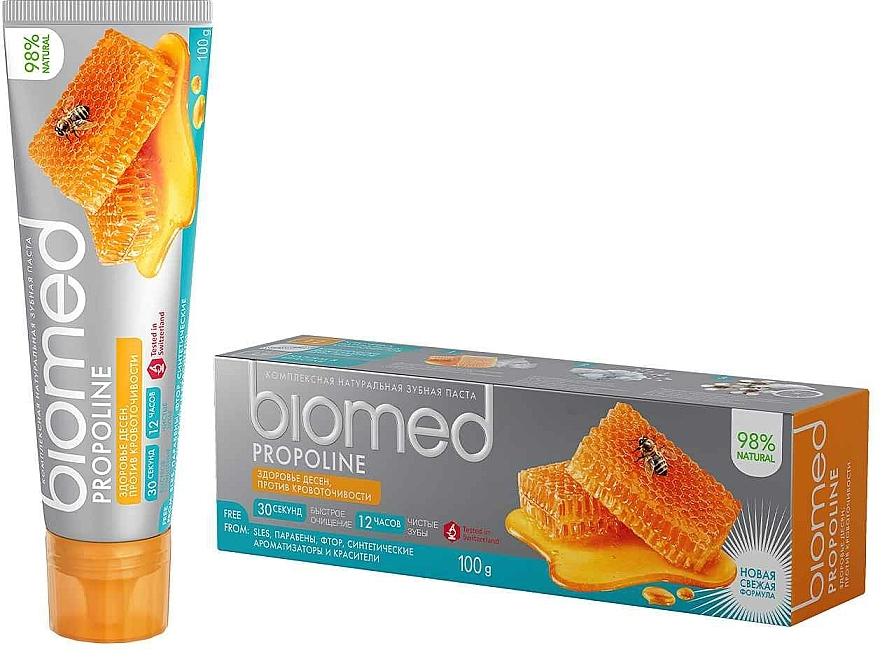 "Tonizujúca zubná pasta ""Propolis"" - Biomed Propoline"