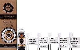 Voňavky, Parfémy, kozmetika Sada - Beviro Vanilla Palo Santo Tonka Boby (b/oil/10ml + b/balm/15ml + edc/5x1ml)