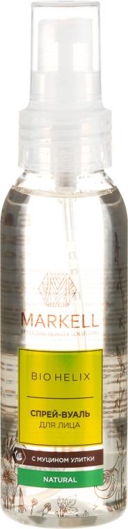 Sprej na tvár s mucínom slimáka - Markell Cosmetics Bio Helix
