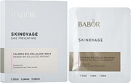 Voňavky, Parfémy, kozmetika Bio celulózová maska pre citlivú pokožku - Babor Skinovage Calming Bio-Cellulose Mask