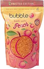 """Voňavky, Parfémy, kozmetika Soľ do kúpeľa """"Broskyňa"""" - Bubble T Cosmetics Bath Salt Peach"""