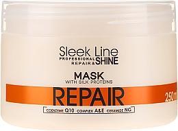 Voňavky, Parfémy, kozmetika Maska na vlasy - Stapiz Sleek Line Repair Hair Mask