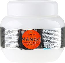 "Voňavky, Parfémy, kozmetika Maska na vlasy ""Mango"" - Kallos Cosmetics Mango"