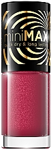 Voňavky, Parfémy, kozmetika Lak na nechty - Eveline Cosmetics Mini Max