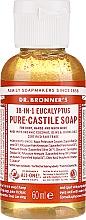 "Voňavky, Parfémy, kozmetika Tekuté mydlo ""eukalyptus"" - Dr. Bronner's 18-in-1 Pure Castile Soap Eucalyptus"