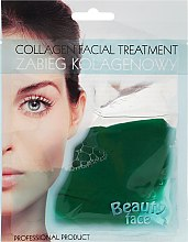 Voňavky, Parfémy, kozmetika Kolagénová maska s výťažkom z uhoriek - Beauty Face Cucumber Extract Collagen Mask