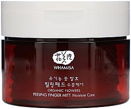 Voňavky, Parfémy, kozmetika Čistiace vatové tampóny - Whamisa Organic Flowers Peeling Finger Mitt Moisture Care