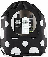 Voňavky, Parfémy, kozmetika Sada - Syoss Salon Plex (shm/500ml + balm/500ml + sh/200ml + pouch)