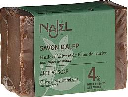 Voňavky, Parfémy, kozmetika Mydlo - Najel 4% Aleppo Soap
