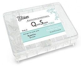 Voňavky, Parfémy, kozmetika Formy na predlžovanie nechtov na jedno použitie - Elisium Quick Shape Nail Form Typ 2