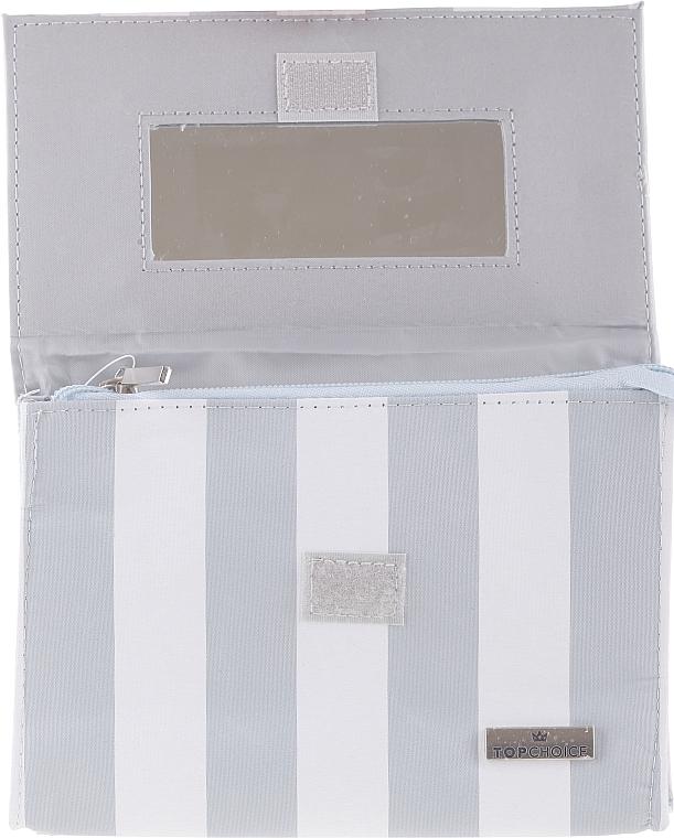 """Kozmetická taška so zrkadlom """"Chaplet"""", 96501, modrá - Top Choice — Obrázky N2"""