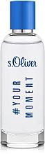 Voňavky, Parfémy, kozmetika S.Oliver #Your Moment - Toaletná voda